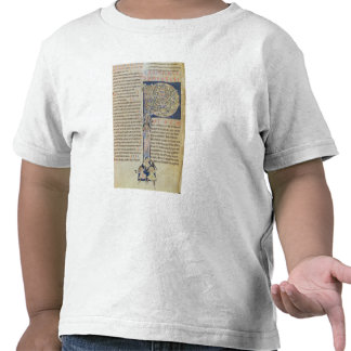 Historiated initial 'P' Shirts
