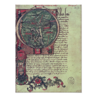 Historiated initial poster