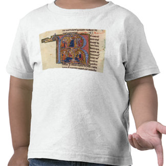 Historiated initial 'R' depicting the Sultan T-shirts