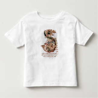Historiated initial 'S' Toddler T-shirt