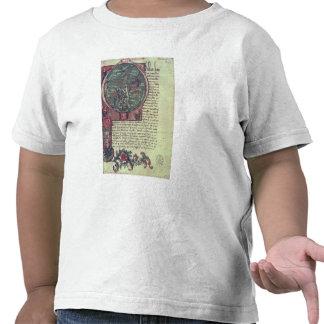 Historiated initial tee shirt