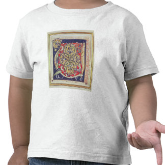 Historiated initial 'U' T-shirts