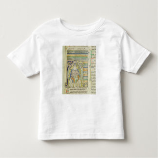 Historiated letter 'A' depicting generations Toddler T-shirt