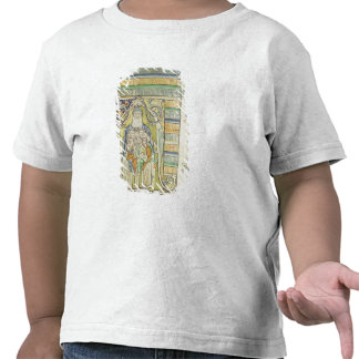 Historiated letter 'A' depicting generations T-shirt