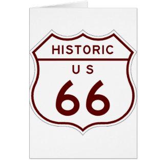 historic66 card