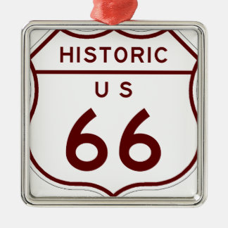 historic66 metal ornament