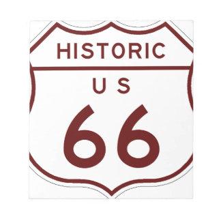 historic66 notepad