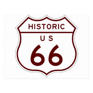 historic66 postcard