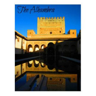 Historic 14th Century Nasrid Palace Postcard