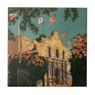 Historic Alamo Mission Tile