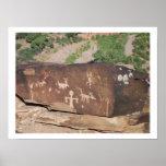 Historic American Petroglyphs poster #2
