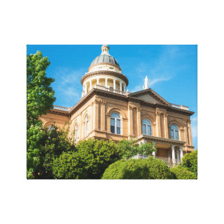 Historic Auburn California Courthouse Canvas Print