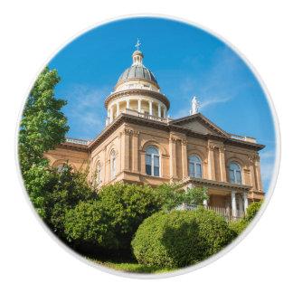 Historic Auburn California Courthouse Ceramic Knob