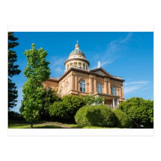 Historic Auburn California Courthouse Postcard