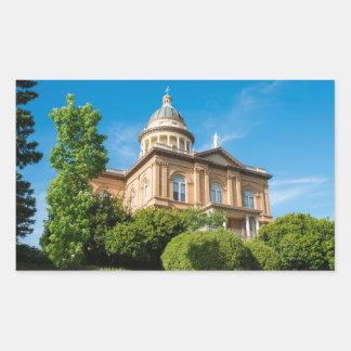 Historic Auburn California Courthouse Sticker