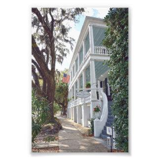 Historic Beaufort, South Carolina, Inn Photo Print