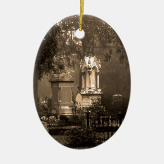 Historic Bonaventure Cemetery Ceramic Ornament