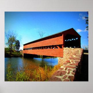 Historic Bridge Poster