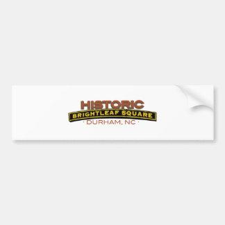 Historic Brightleaf Square Bumper Sticker