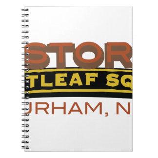 Historic Brightleaf Square Spiral Notebook