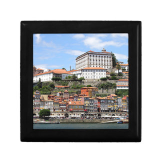 Historic buildings and river, Porto, Portugal Gift Box