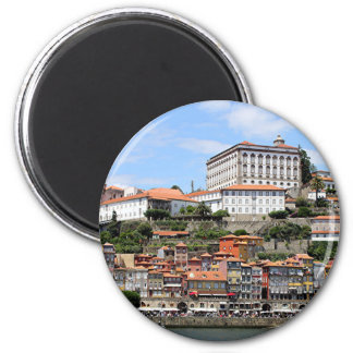 Historic buildings and river, Porto, Portugal Magnet