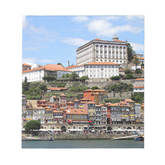 Historic buildings and river, Porto, Portugal Notepad