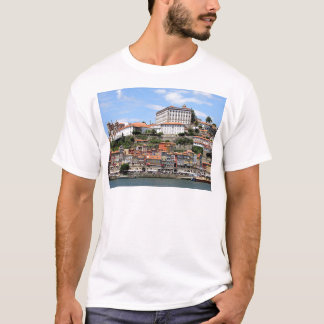 Historic buildings and river, Porto, Portugal T-Shirt