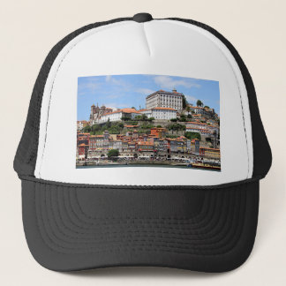 Historic buildings and river, Porto, Portugal Trucker Hat