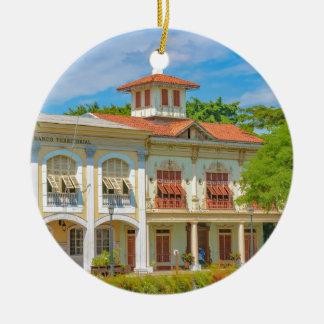 Historic Buildings, Guayaquil, Ecuador Ceramic Ornament