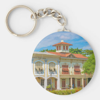 Historic Buildings, Guayaquil, Ecuador Keychain