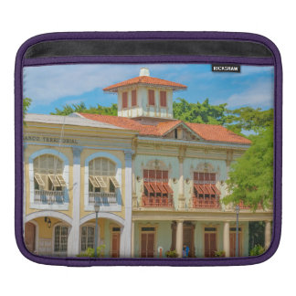 Historic Buildings, Parque Historico, Guayaquil iPad Sleeve