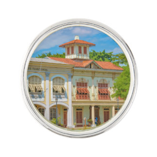 Historic Buildings, Parque Historico, Guayaquil Lapel Pin