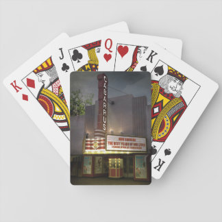 Historic Cabarrus Theater Playing Cards