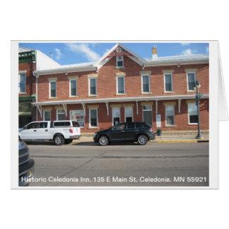 Historic Caledonia Inn Card