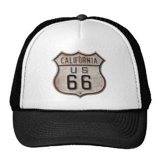 Historic California Highway Sign Trucker Hat