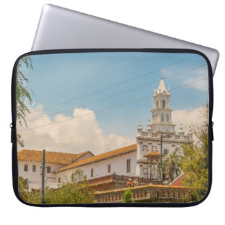 Historic Center of Cuenca, Ecuador Laptop Sleeve