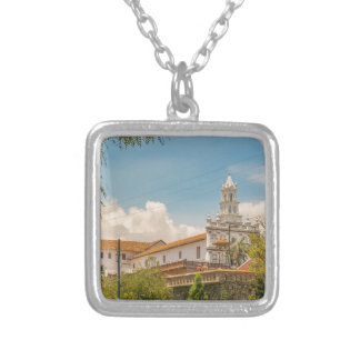 Historic Center of Cuenca, Ecuador Silver Plated Necklace