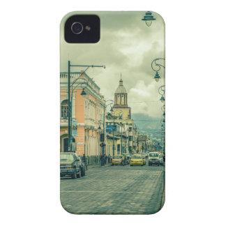 Historic Center Urban Scene at Riobamba City iPhone 4 Cover