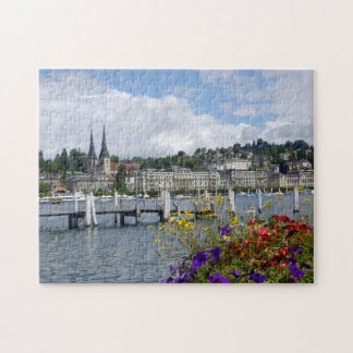 Historic city center of Lucerne Jigsaw Puzzle