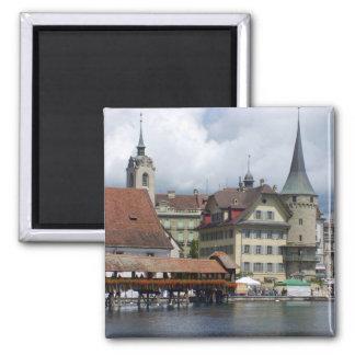 Historic city center of Lucerne Magnet