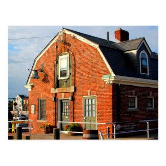Historic City Wharfinger Building Postcard
