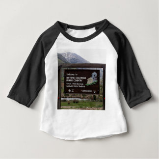 Historic Colorado mining country sign Baby T-Shirt