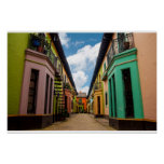 Historic Colourful Buildings Poster