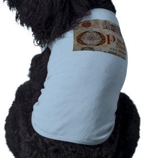 Historic Document  Antique Certificate Vintage Dog Clothing