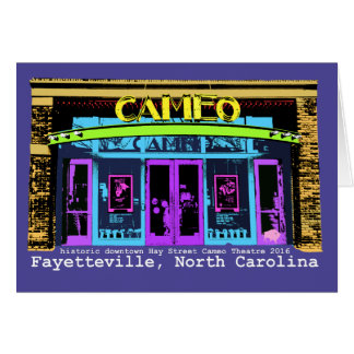 Historic Downtown Fayetteville NC Card