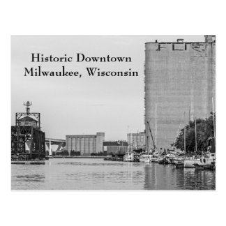 Historic Downtown Milwaukee Wisconsin Postcard