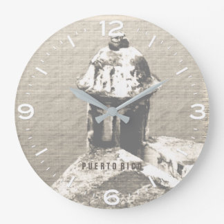 Historic El Morro Castle, Puerto Rico Wall Clock