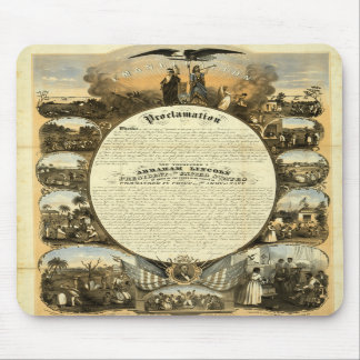 Historic Emancipation mousepad
