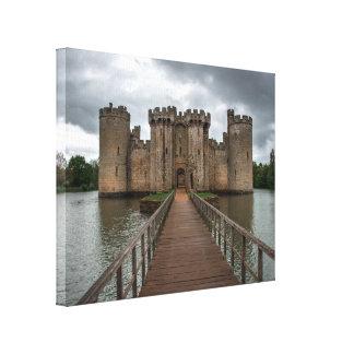 Historic English Castles Bodiam Castle Sussex Canvas Print